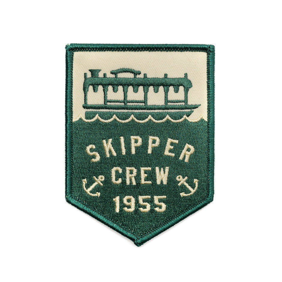 Skipper Crew Banner Patch