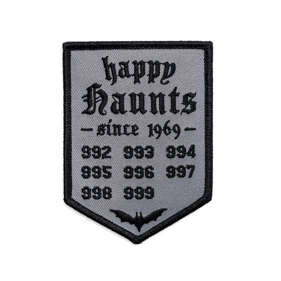Happy Haunts Banner Patch