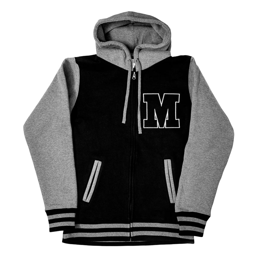 Made to Thrill Varsity Zip Hoodie