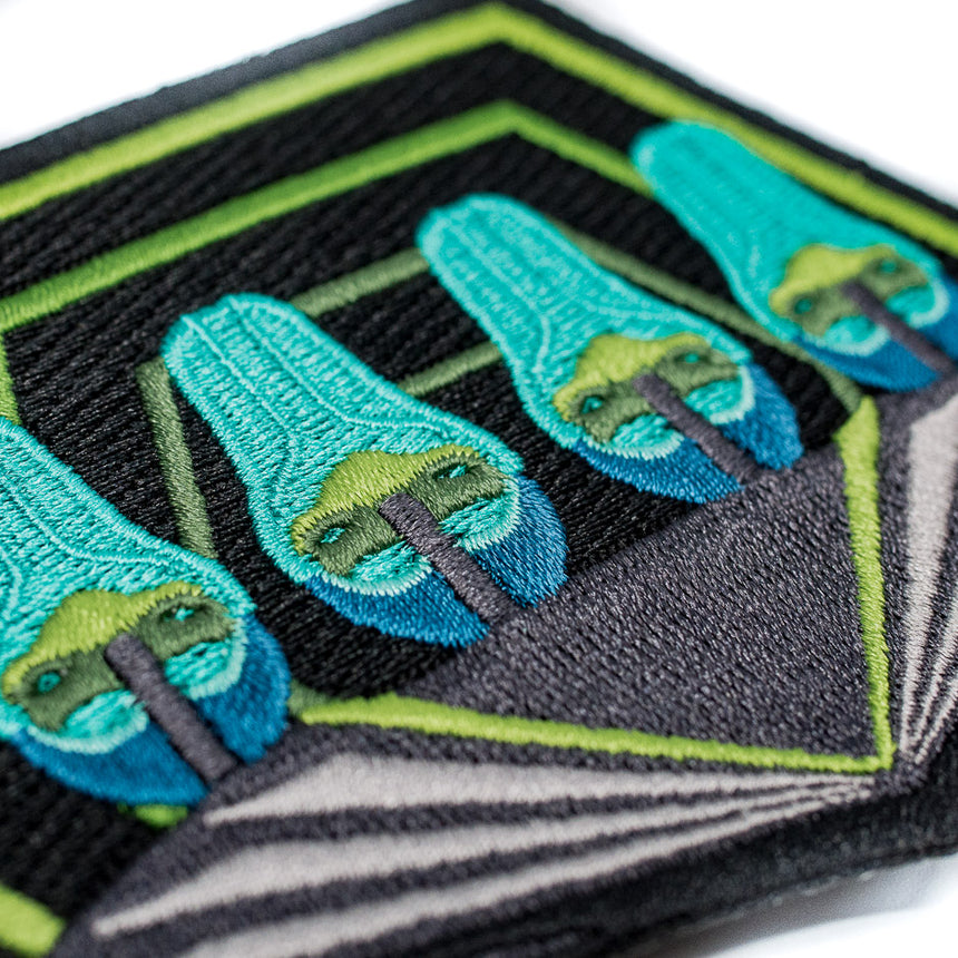Charlotte 2015 Roller Coaster Patch Detail