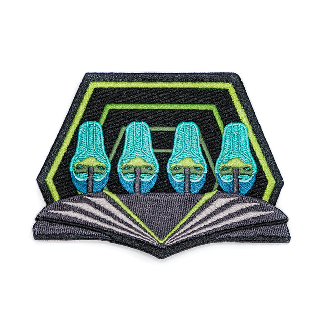 Charlotte 2015 Roller Coaster Patch