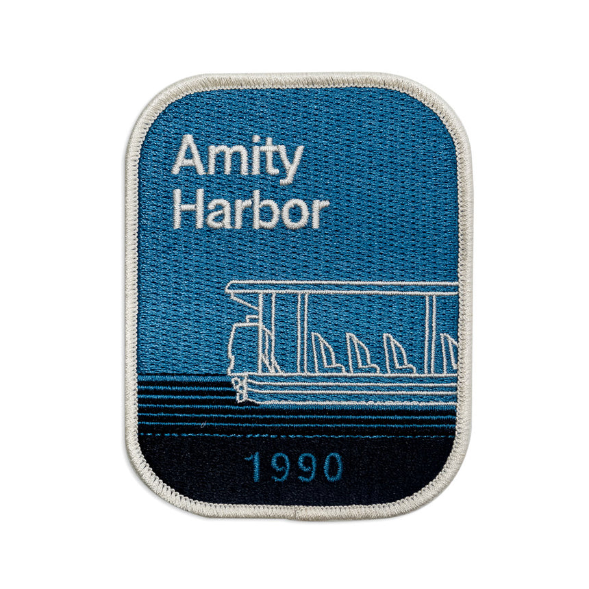 Amity Harbor 1990 Theme Park Attraction Patch
