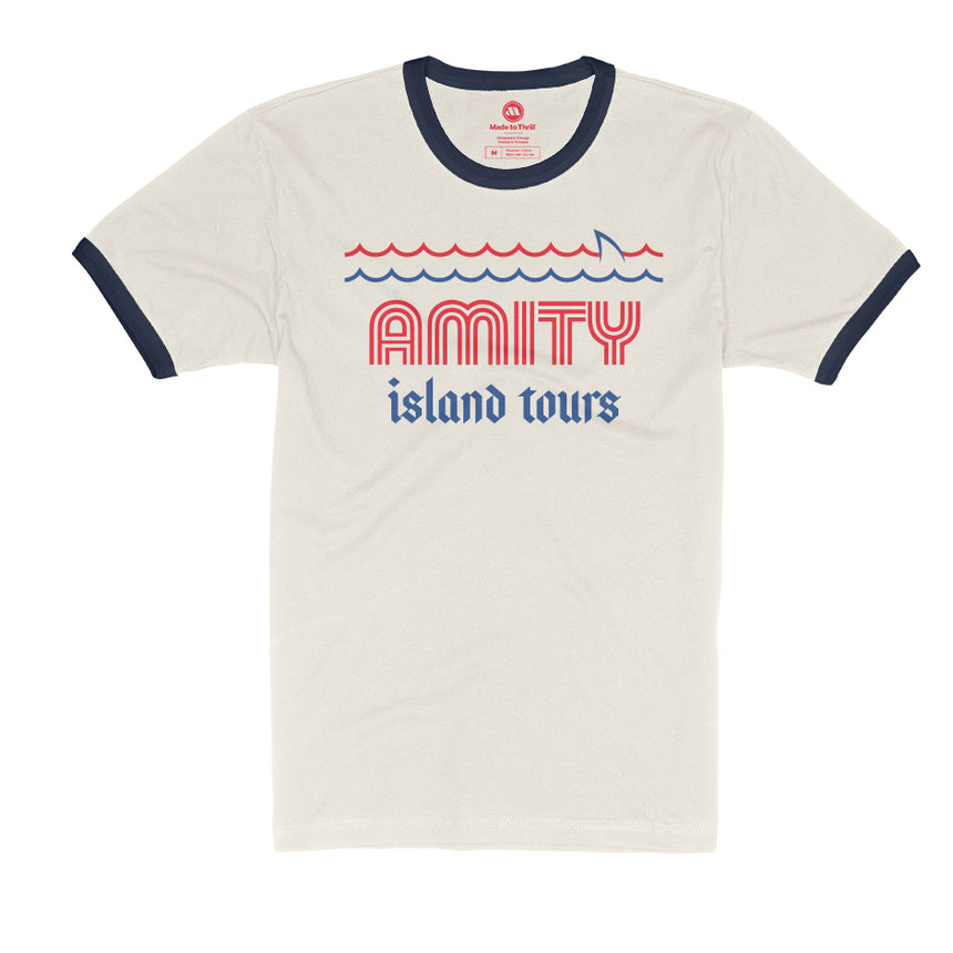 Amity Island Tours Theme Park Attraction T-shirt