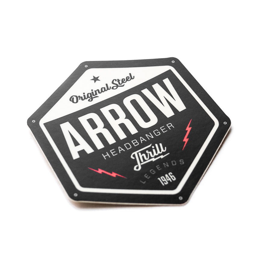 Arrow Dynamics Roller Coaster Designer Sticker