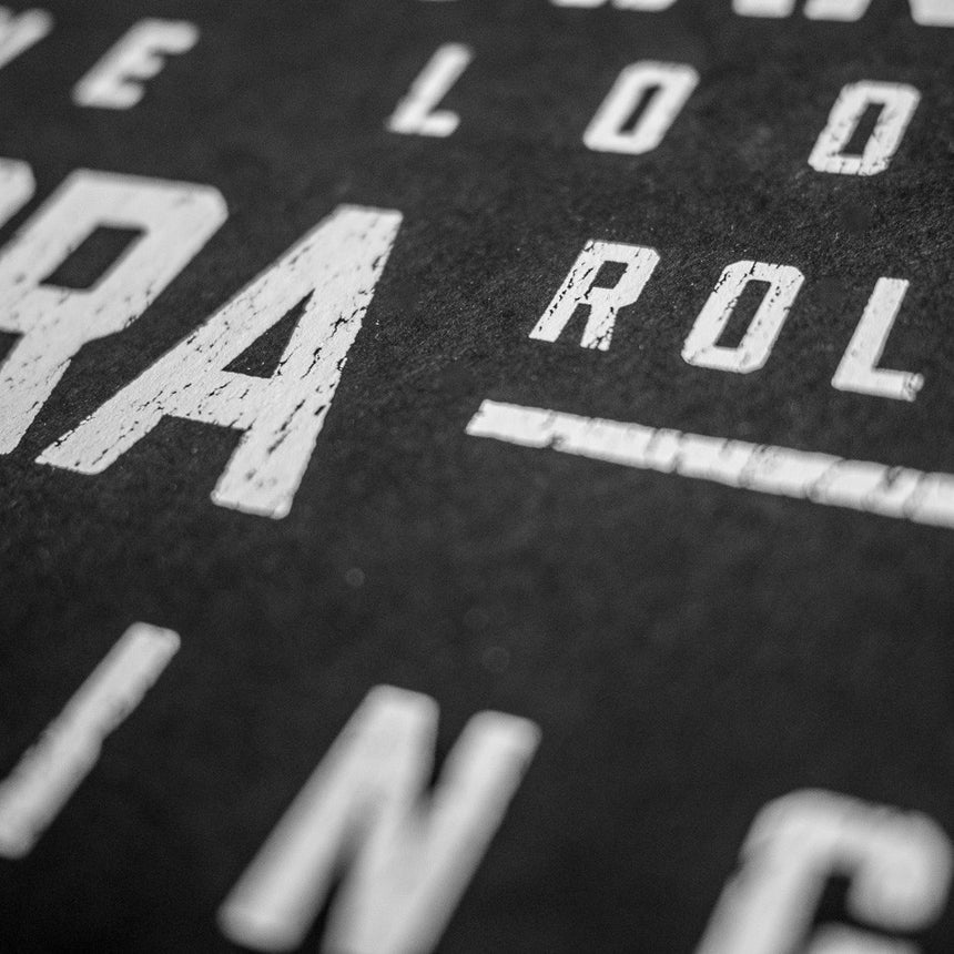 B&M Roller Coaster Elements Print | Detail