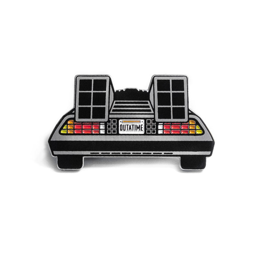 Back to the Future DeLorean Pin