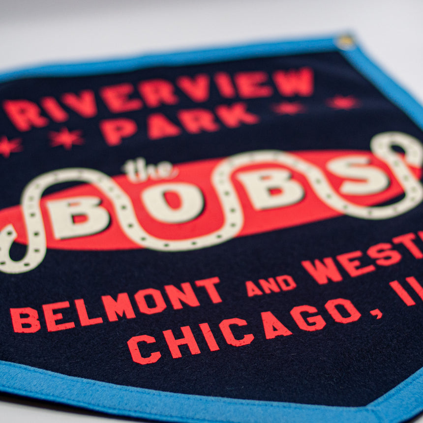 Riverview Park The Bobs Retro Banner | Detail
