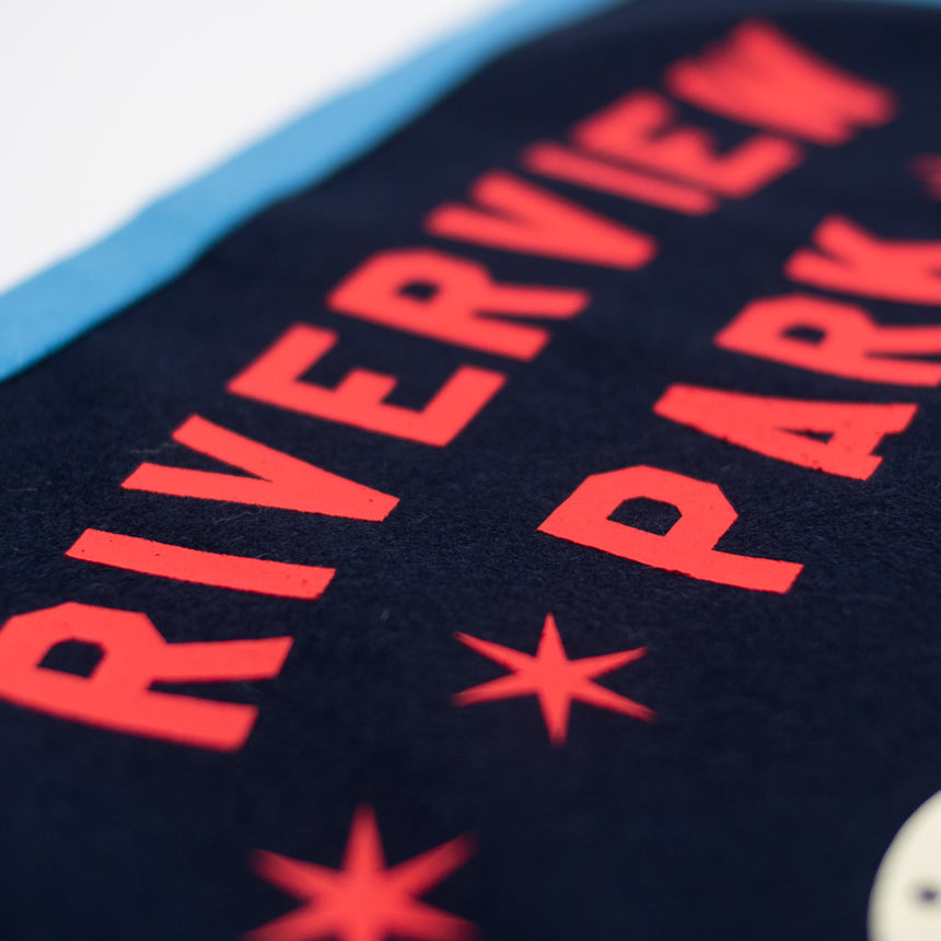 Riverview Park The Bobs Retro Banner | Typography