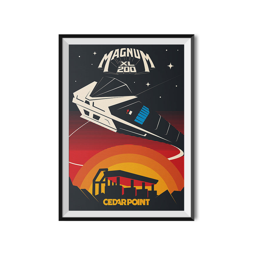 Made to Thrill x Cedar Point - Magnum XL 200 Poster