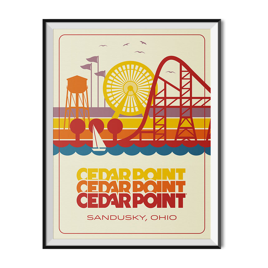 Made to Thrill x Cedar Point - Skyline Poster