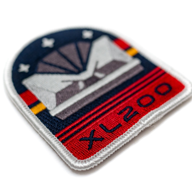 Magnum XL200 Inspired Coaster Patch | Detail
