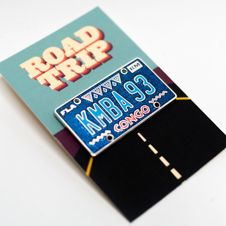 Congo 1993, Roller Coaster Inspired Pin | Backer Card