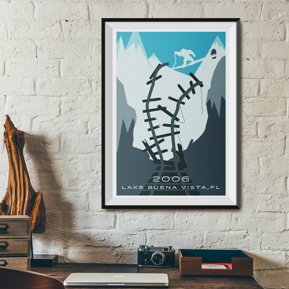 Expedition Everest Poster Walt Disney World | Desk