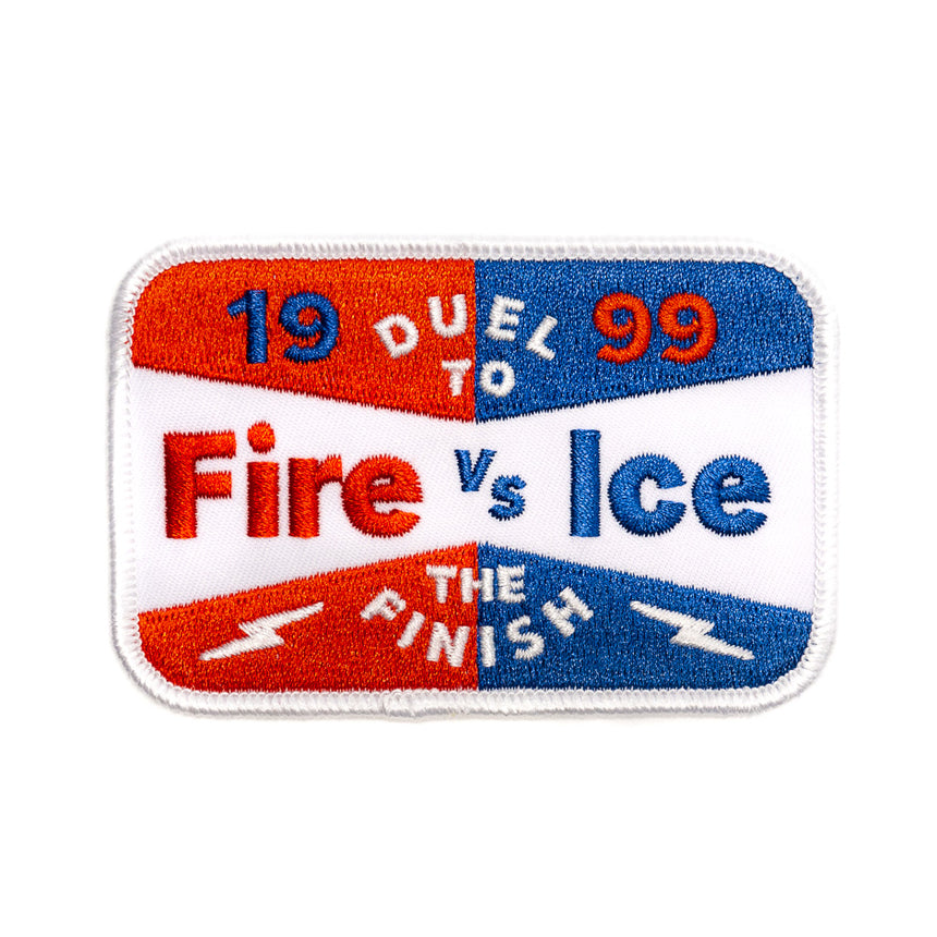 Fire vs Ice Race Roller Coaster Patch