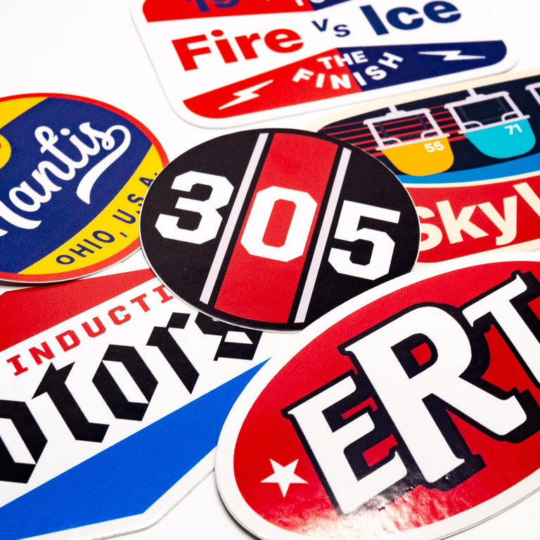 Fuel, Theme Park Inspired Sticker Pack | Detail