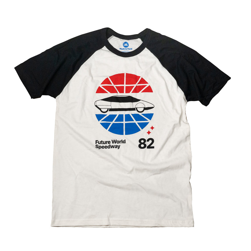 Future World Speedway Theme Park Attraction T-Shirt
