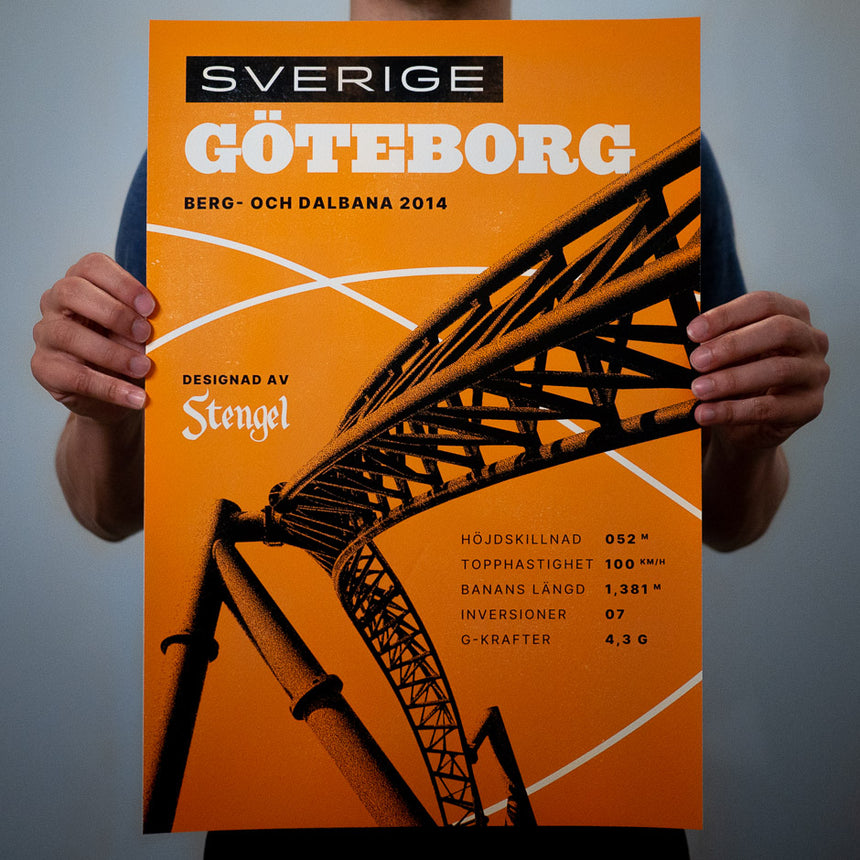 Gothenburg Motorsport Poster