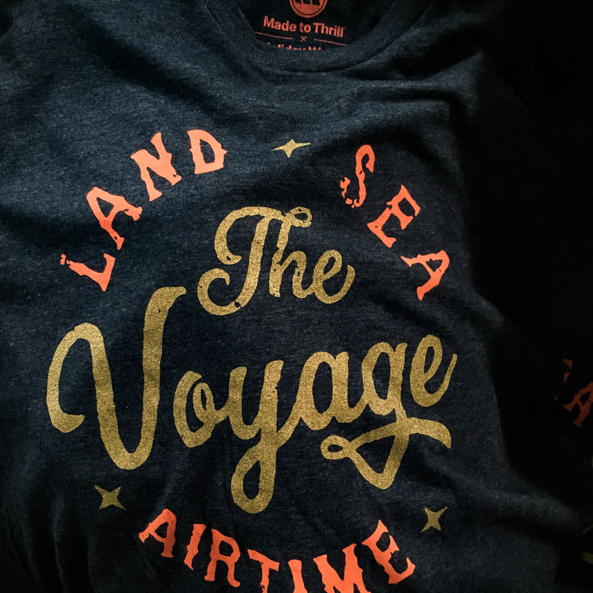 Made to Thrill x Holiday World - The Voyage T-Shirt Detail view