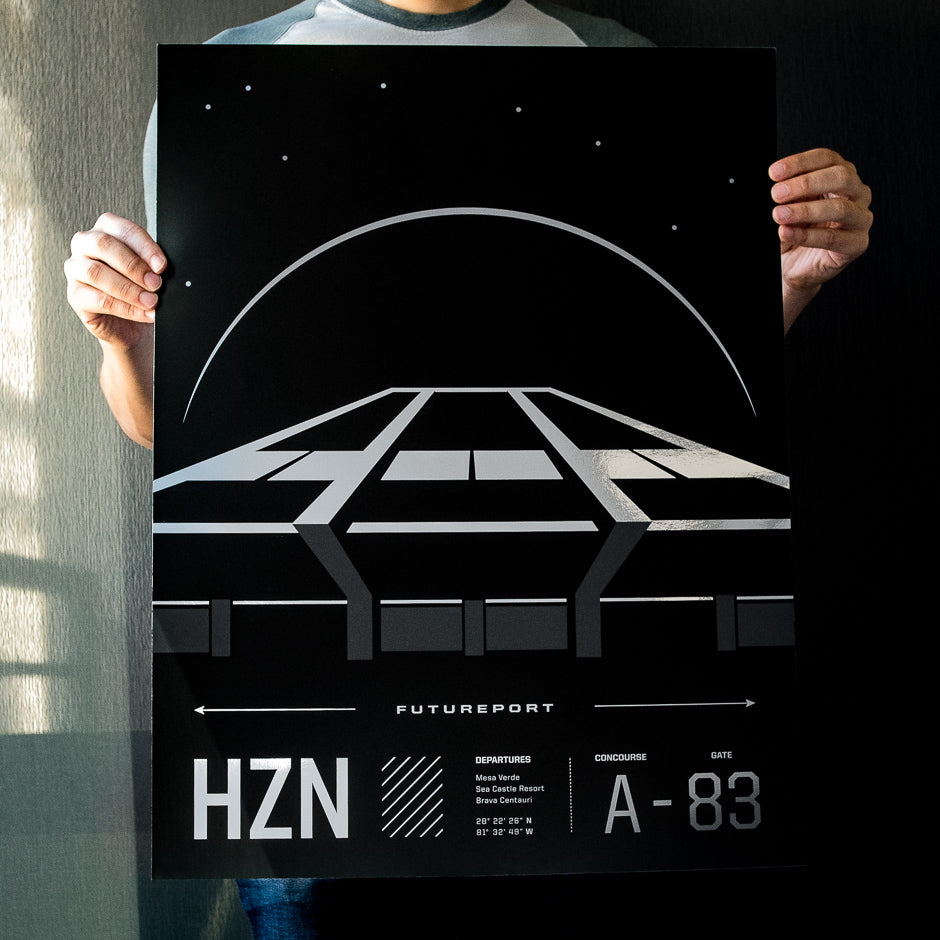 HZN Futureport Poster | In Hand