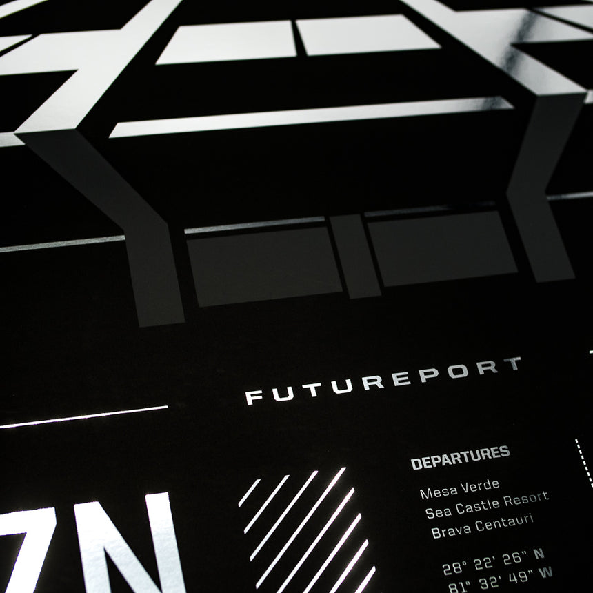 HZN Futureport Poster | Detail