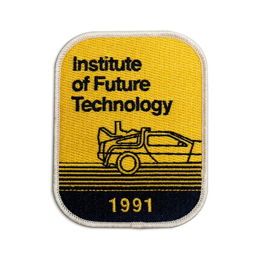 Institute of Future Technology 1991 Theme Park Attraction Patch