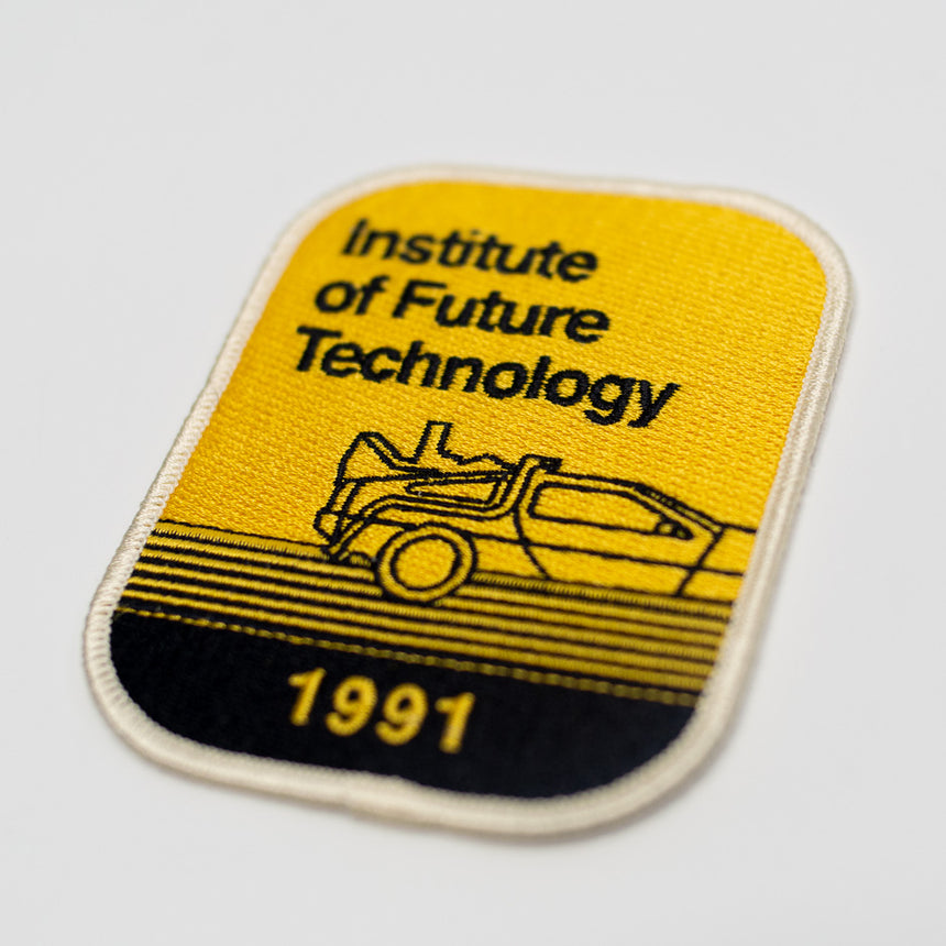 Institute of Future Technology 1991 Theme Park Attraction Patch | Detail