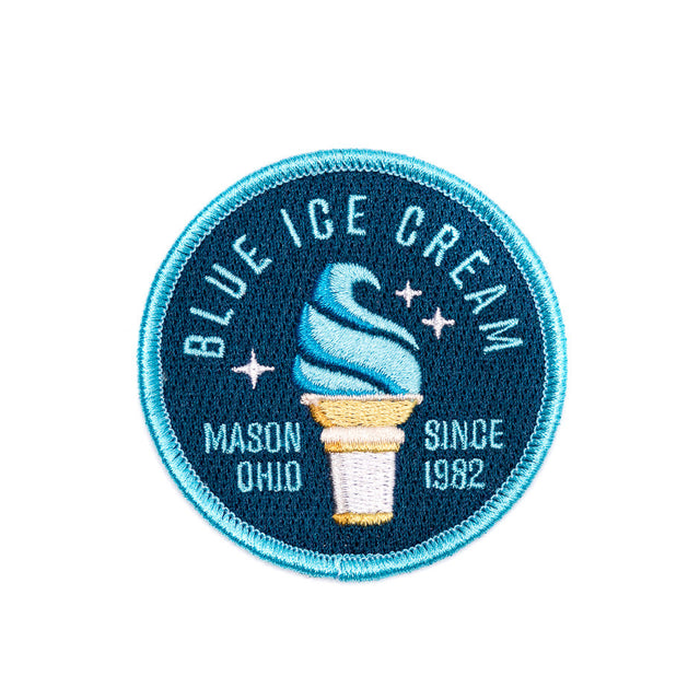 Kings Island Blue Ice Cream Patch