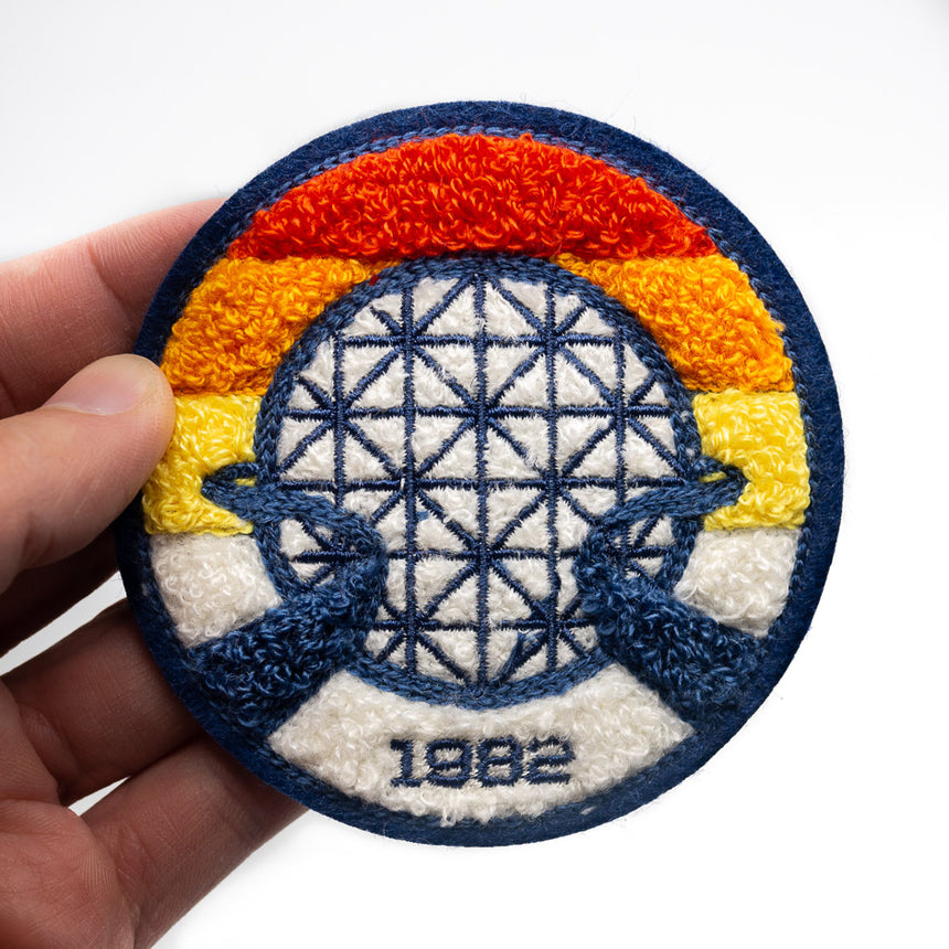 Lake Buena Vista 1982 Chenille Patch