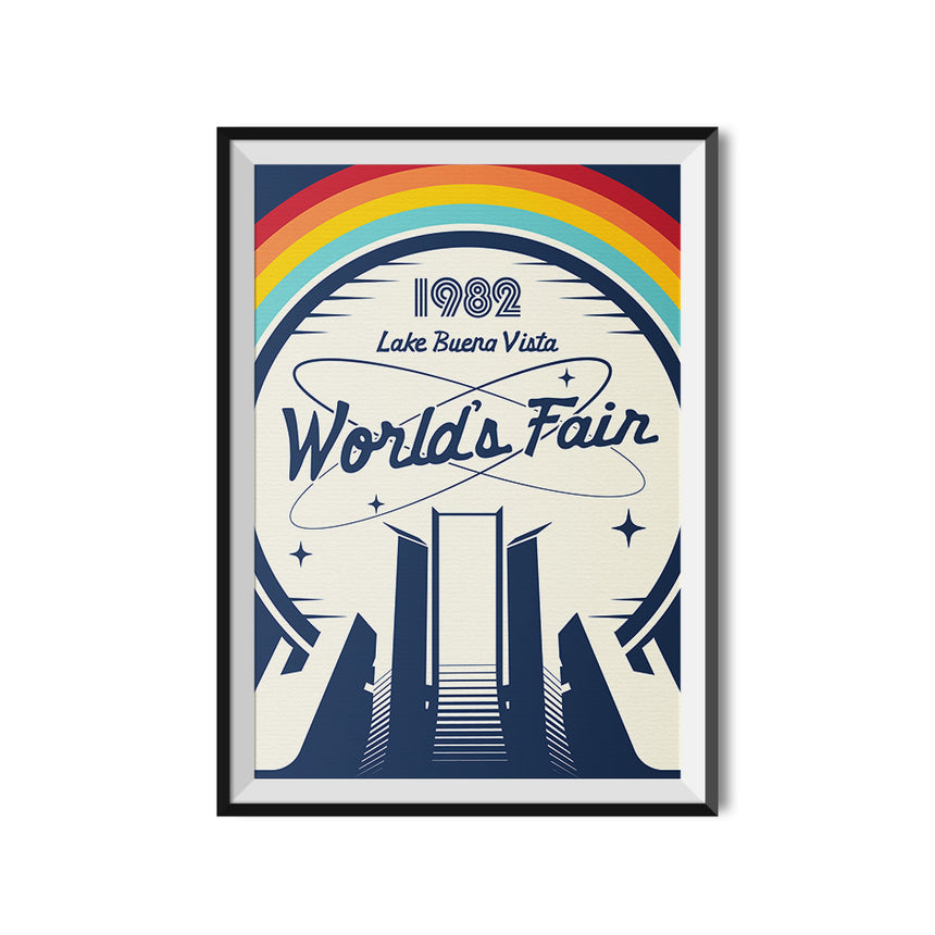 1982 Lake Buena Vista World's Fair Poster