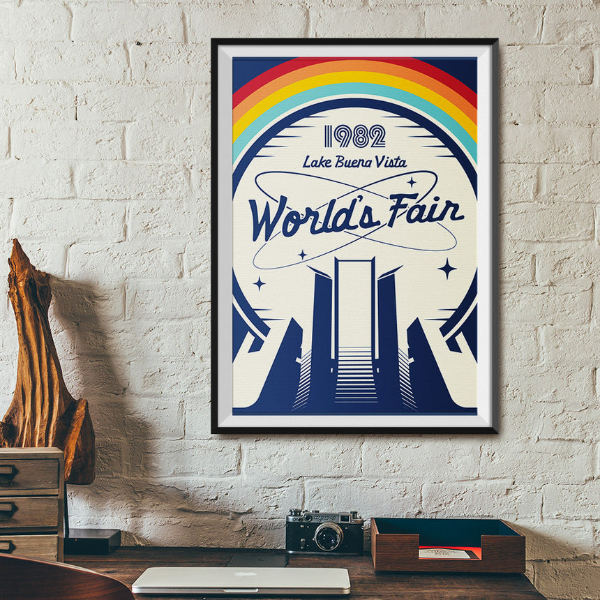 1982 Lake Buena Vista World's Fair Poster - Office