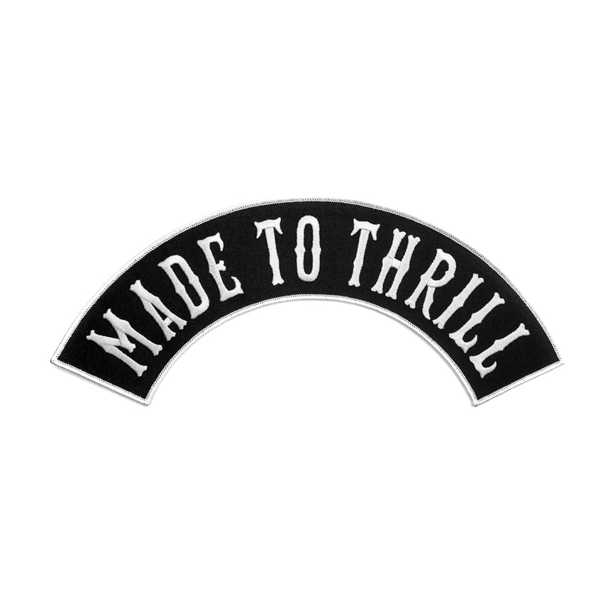 Made to Thrill Biker Patch Kit | Cast member | Ride Op | RMC patches