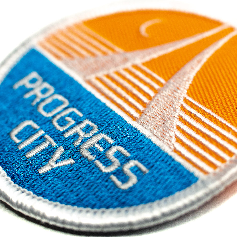 Progress City Theme Park Patch | Detail