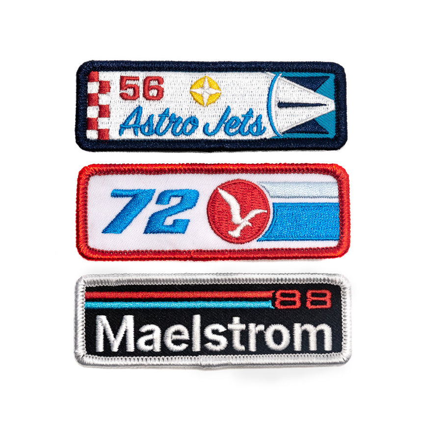 Retired Racers Patch Kit