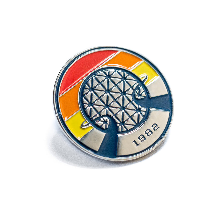 Lake Buena Vista 1982 Retro Style Soft Enamel Lapel Pin