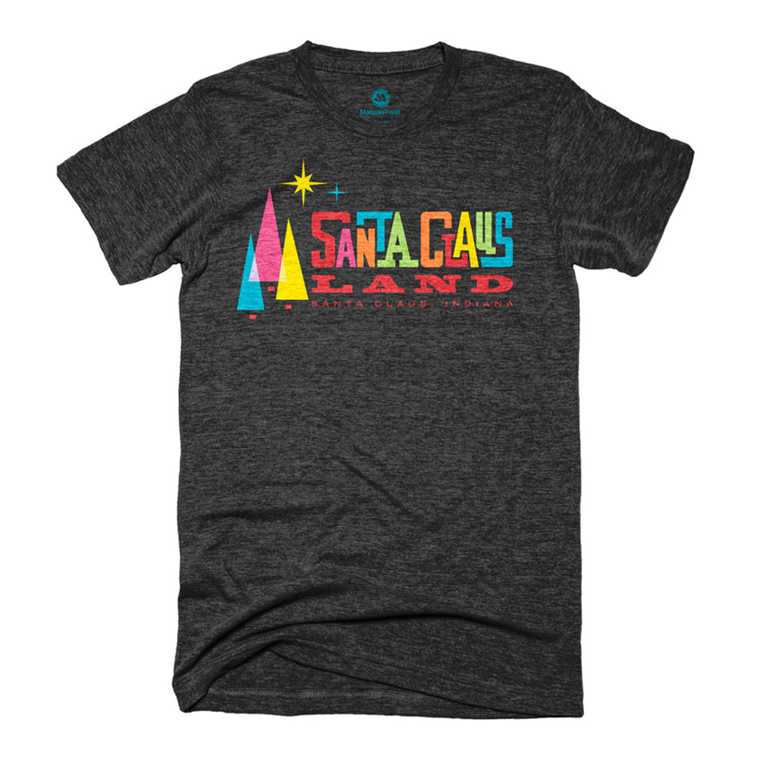 Made to Thrill x Holiday World - Santa Claus Land Retro T-Shirt