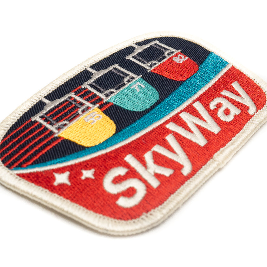 Skyway Theme Park Attraction Patch