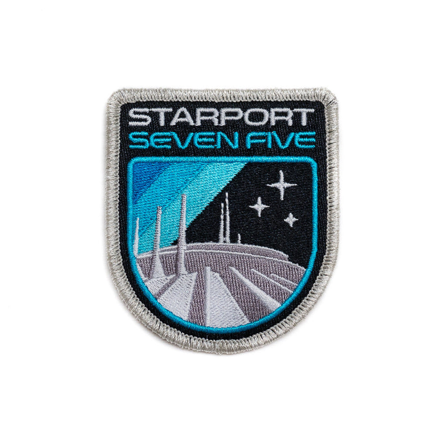 Retro Space Mountain Patch