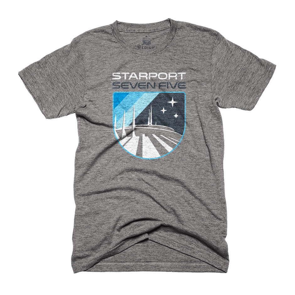 Starport Seven Five Space Mountain T-Shirt
