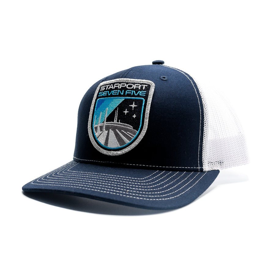 Starport Seven Five Roller Coaster Trucker Hat