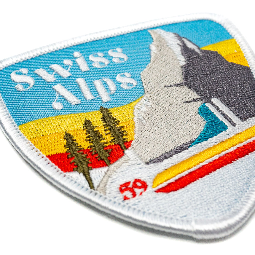Swiss Alps Anaheim Roller Coaster Patch