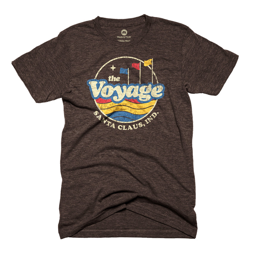 Made to Thrill x Holiday World - The Voyage Retro Roller Coaster T-Shirt