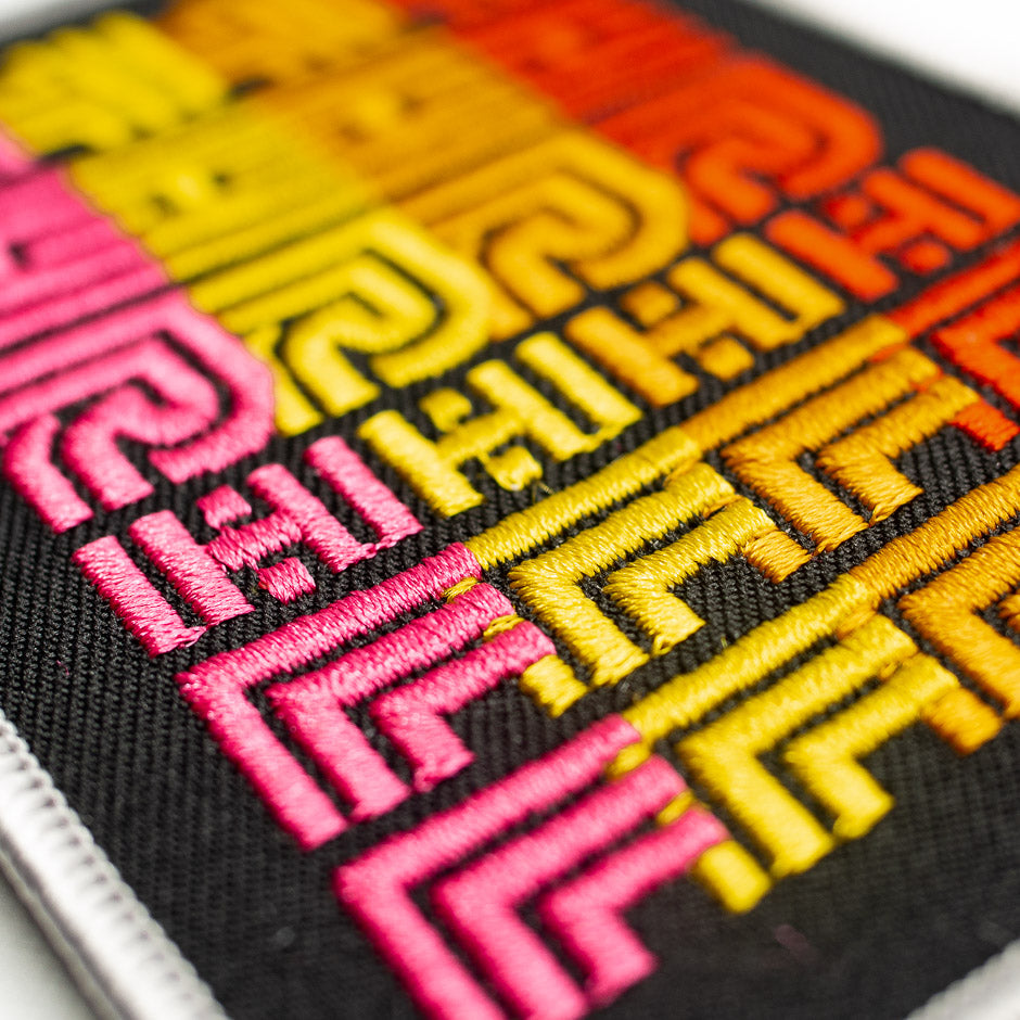 Thrill 82 Theme Park Inspired Patch
