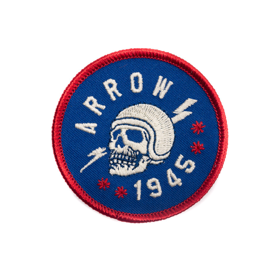 Arrow Varsity Roller Coaster Patch