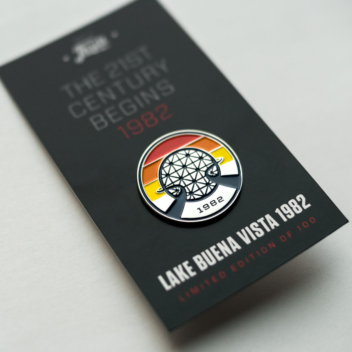 Retro Vintage EPCOT Center Pin | with package backing