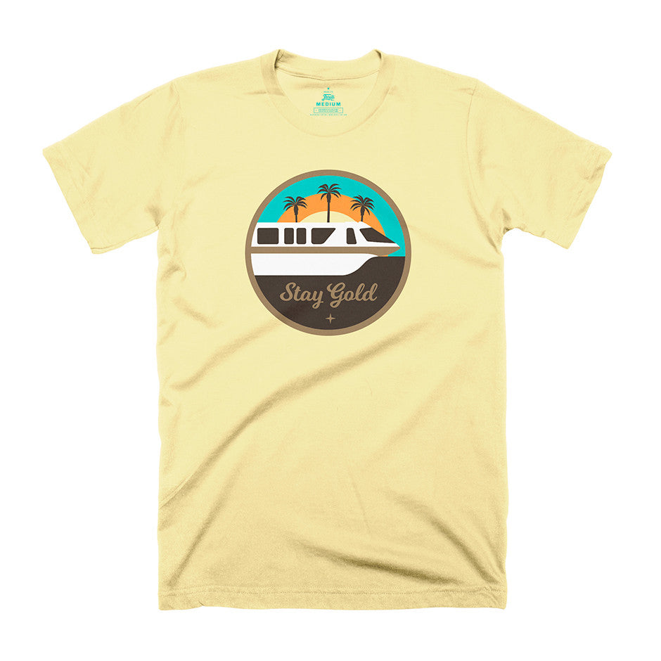 Stay Gold Monorail T-Shirt