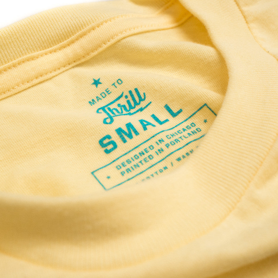 Stay Gold Monorail T-Shirt | Size Tag
