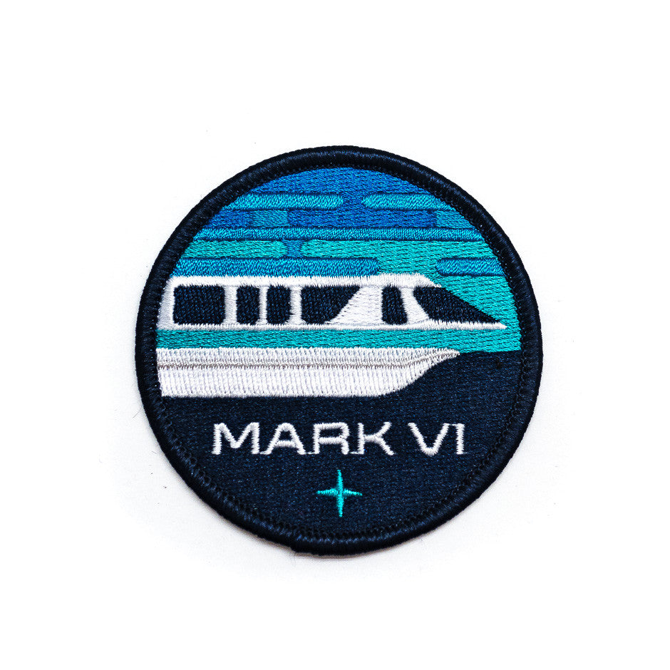 WDW Monorail Inspired Patch