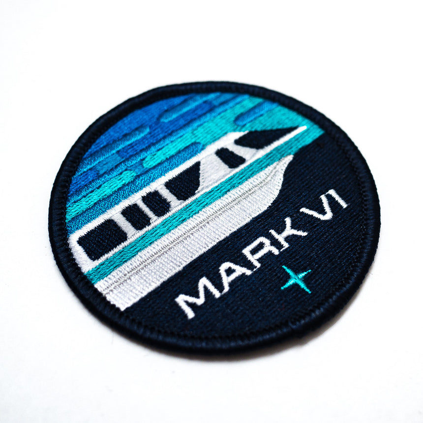 WDW Monorail Inspired Patch Detail