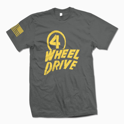 Charcoal 4 Wheel Drive TShirt