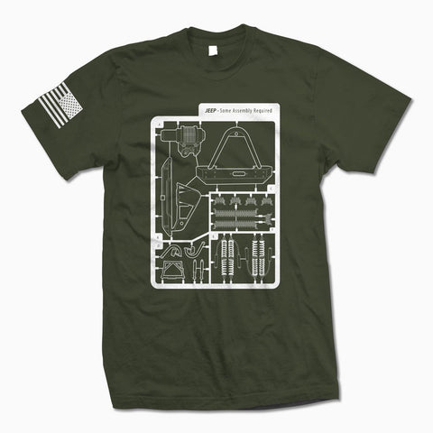 Army Green Some Assembly Required TShirt